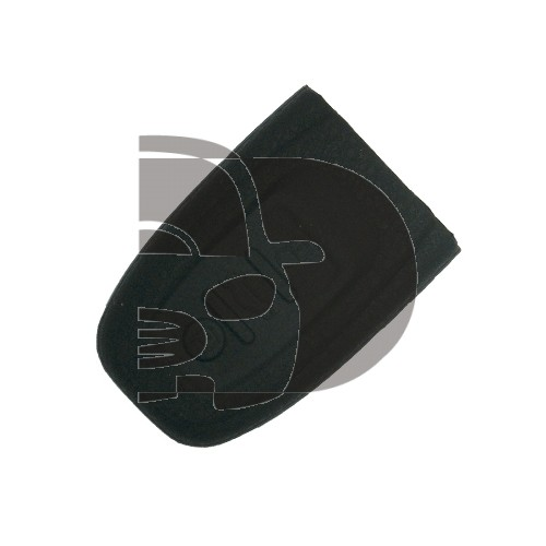 FUNDA MANDO AUDI NEGRO 3 BOTONES (KEYLESS)