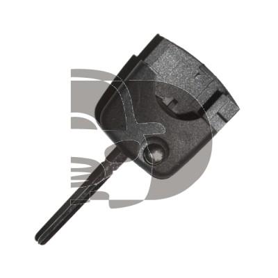LLAVE PARA MANDO PLEGABLE AUDI (REDONDA) ID13 HU66