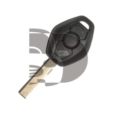 LLAVE+MANDO BMW 3 BOT HU92 ID46 433MHZ (CAS2)