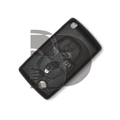 LLAVE CON MANDO C8/P807 +09  4 BOTONES  ID46  HU83