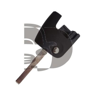 LLAVE PARA MANDO PLEGABLE FORD (SIN CHIP) HU101