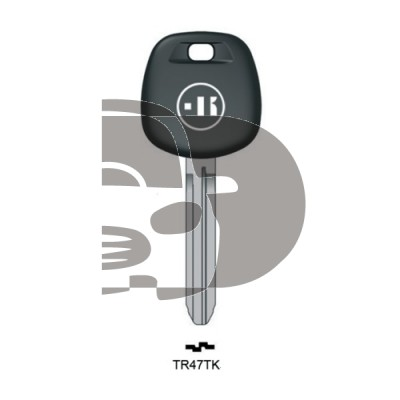 LLAVE PARA TRANSPONDER TOYOTA  TOY43
