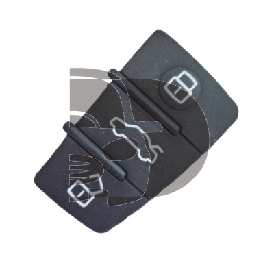 BUTTONS REMOTE AUDI 3 BUTTONS (TRAPEZOID)