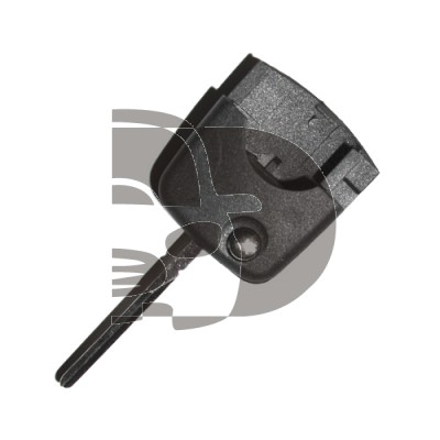 AUDI FOLDING KEY - ROUND TYPE - ID48 CAN