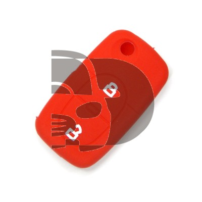 AUDI 2 BUTTONS SILICON COVER