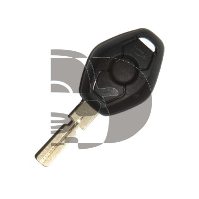 KEY AND REMOTE  BMW 3 BUTTON HU58 ID44 433MHZ