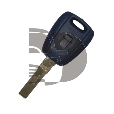 KEY FIAT FOR TRANSPONDER