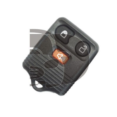 SHELL REMOTE FORD 3 BUTTONS KEYRO
