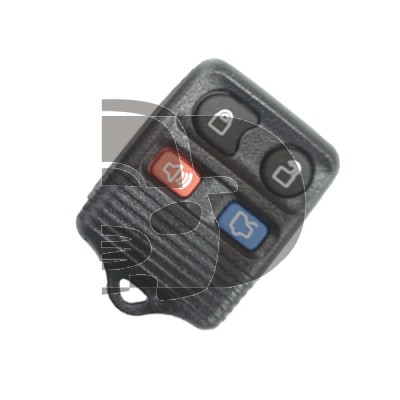 SHELL REMOTE FORD 4 BUTTONS KEYRO