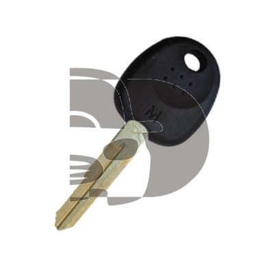 KEY WITH TRANSPONDER ACCINT -X- (ID4C)
