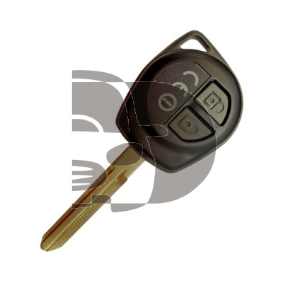 KEY AND REMOTE  GRAN VITARA 2 BUTTON ID60