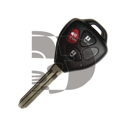 REMOTE SHELL TOYOTA 3 BUTTON