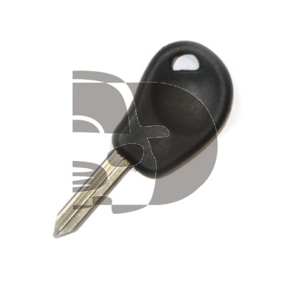 CITROEN KEY WITH A T5 CHIP INSIDE