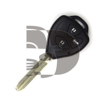 TOYOTA 2+1 BUTTON SHELL REMOTE