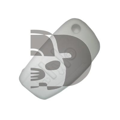 HOUSSE TELECOMMANDE AUDI BLANC 3 BOUTONS (NON  RIG