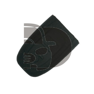 HOUSSE TELECOMMANDE AUDI NOIR 3 BOUTONS (KEYLESS)