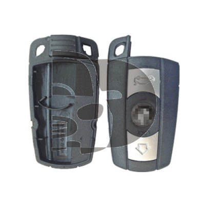 COQUE TELECOMMANDE BMW  KEY LESS - 2 BOUTONS