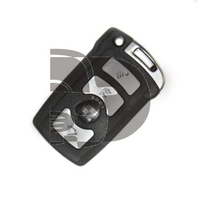 CLE+TELECOMMANDE BMW 4 BOUTONS KEYLESS ID46 - 434M