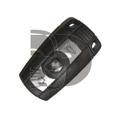 CLE+TELECOMMANDE BMW 3 BOUTONS KEYLESS ID46 434