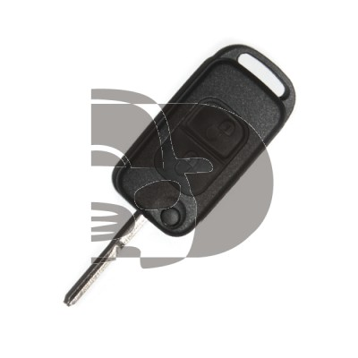 COQUE PLIABLE MERCEDES 2 BOUTONS HU64